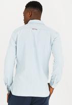 Tommy Hilfiger - Indigo Stripe Shirt Mid Blue