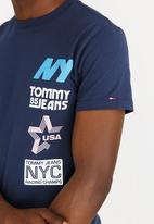 Tommy Hilfiger - Multi Hit Tee Navy