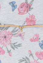See-Saw - Belted sweatshirt dress - multi