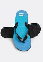 Billabong  - Sergio thong flip flop - blue
