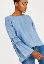 ONLY - Sharon Denim Shirt Blue