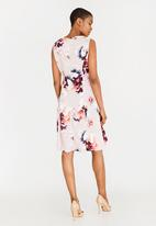 edit - Fit and Flare Dress Multi-colour