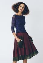Marianne Fassler - Scuba Skirt Multi-colour