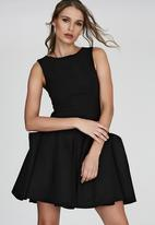 DAVID by David Tlale - Khita Bouquet Dress Black