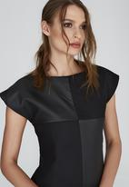 DAVID by David Tlale - Monica Block Dress Black