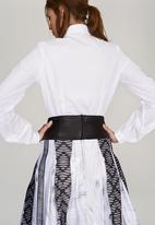 DAVID by David Tlale - Thandi Tailored Shirt White