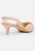 STYLE REPUBLIC - Buckle slingback - pale pink