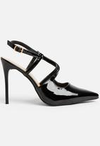 STYLE REPUBLIC - Cross strap stiletto - black