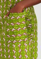 Loin Cloth & Ashes - Dalila Dress Mid Green