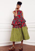 Loin Cloth & Ashes - Bina Top Red