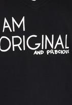 Precioux - Printed Tshirt Black