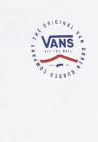 Vans - Short Sleeve Printed Tee White