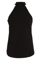 c(inch) - Open Back Top Black
