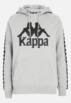 KAPPA - Banda Authentic Hoody Grey Melange