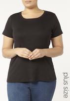 EVANS - Short Sleeve T-shirt Black