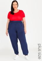 edit Plus - Drape lounge pants - navy