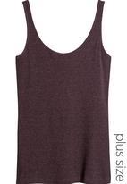 Next - Scoop Vest Purple