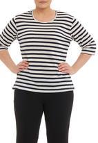 Megalo - Striped T-shirt