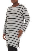 Megalo - Striped tunic dress Multi-colour
