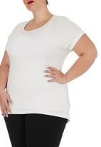 edit - Basic Longer-length T-shirt