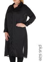 STYLE REPUBLIC PLUS - Tunic Shirt Black