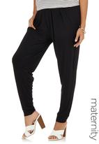 Me-a-mama - Harem Pants Black
