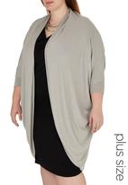 STYLE REPUBLIC - Cocoon  light weight knit Grey