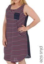 STYLE REPUBLIC PLUS - Tunic Dress Multi-colour