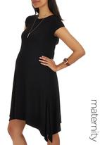edit - Hanky Hem Dress Black