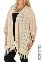 STYLE REPUBLIC - Crochet Kimono Milk