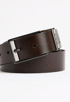 POLO - Enzo Belt Mid Brown
