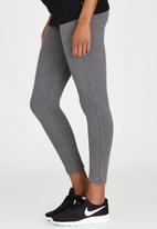 Cherry Melon - Maternity Leggings Full Length - Dark Grey