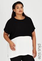ME - Carmen Box T-shirt Black and White