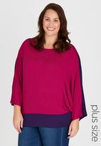 RUFF TUNG - Twiggy Reversible Top Mid Pink