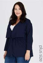 edit Plus - Waterfall Jacket Navy