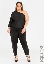 RUFF TUNG - Harem Pants with Sequins Black