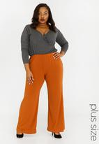 STYLE REPUBLIC PLUS - Palazzo Pants Rust