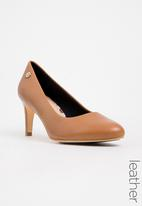 Tommy Hilfiger - Leather Courts Tan