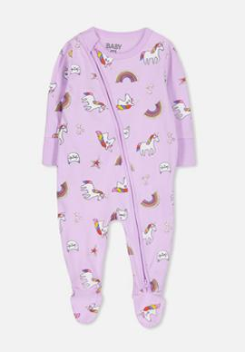 GIRLS' BABYGROWS