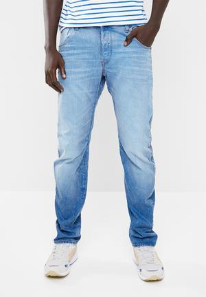 30f2b2b8081 Arc 3D slim itano stretch denim - blue
