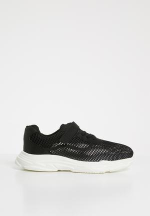 a3bb66e7da7d Mesh lo-top sneaker - black