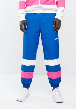 CB windbreaker pants - blue