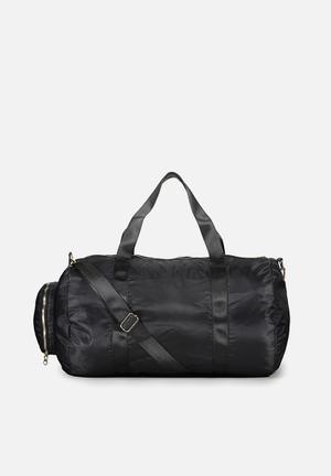 Anthens foldable duffle bag - black