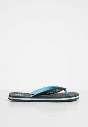 8b167259bb35 Ultimate junior flip flops - black