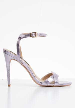 0adb781f6981 Florida ankle strap heels - purple
