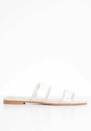 11842d22480d Sienna espadrille sandal - taupe. By Superbalist R349 · Lola perspex sandal  - pale pink