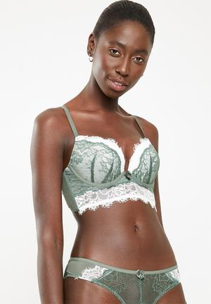 d6bc3dcd7f313 Double layer bra - green