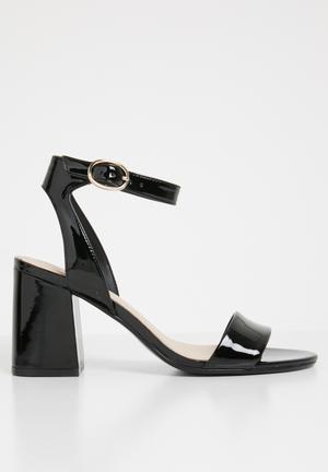 43e6dfcafb2 Ankle strap sandal - black