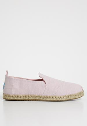 063f2dd10edd Blossom slub chambray women s deconstructed alpargatas - pink