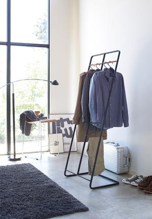 Tower coat rack wide - black
